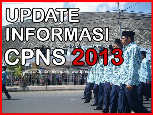 Update informasi CPNS 2013